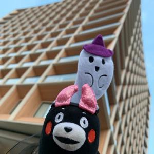 ❤️国立競技場散歩❤️ ①三井ガーデンホテル神宮外苑❤️