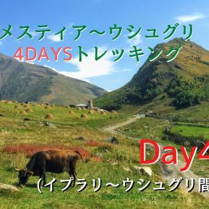 メスティア~ウシュグリ4DAYSトレッキング④【イプラリ~ウシュグリ間】