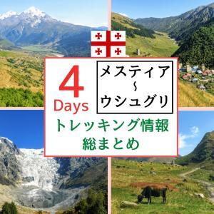 メスティア~ウシュグリ4日間トレッキング総まとめ【季節・宿泊・アドバイス】