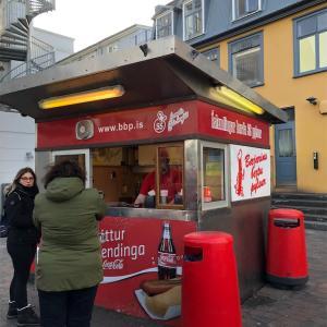 【アイスランド】宇宙1美味しい?ホットドッグ