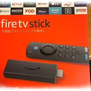 Fire TV Stick を買ってみた。 リモコンが違う。。。