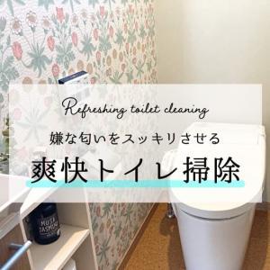 嫌な匂いをスッキリさせる爽快トイレ掃除