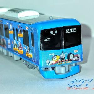 関西私鉄のラッピング電車・きかんしゃトーマス号2020です!