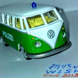 古き良きドイツパトカー・VW T1です!