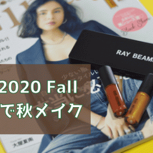 【付録買い】Gina 2020 Fallの付録でアイメイク!【コスパ最強説】