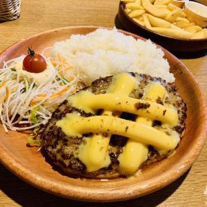 チーズ倍に!&ピーチパフェ♪~びっくりドンキー~