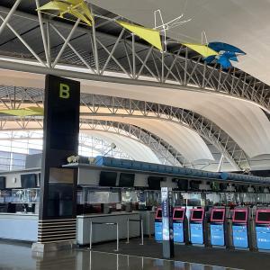 お盆の関西国際空港の現状。国際線フロアは?
