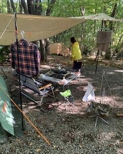 キャンプに行きたい・・・。焚き火したい。。