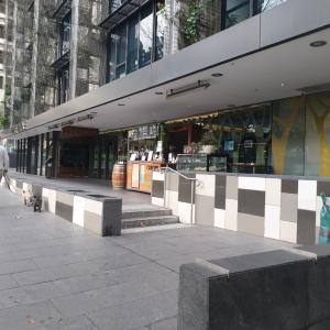 ロックダウン中のシドニー中心部をちょっとだけ歩いたら