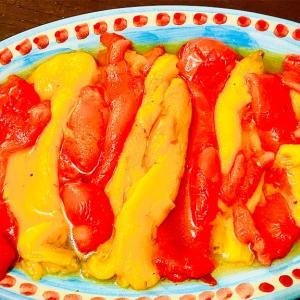 作り置きレシピ。パプリカのマリネ