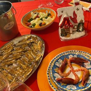 コロナ禍のイタリアのクリスマスイブご飯