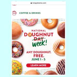 Doughnut Day!! tomorrow!! 6/5ドーナツデー(再)