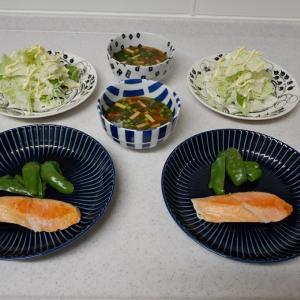 小松美羽展「アマビエ様」と「木爺さん」  いつも冷凍庫にスタンバイの鮭は、コープで買っています