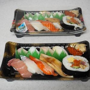 冷凍庫から、やっとお餅が無くなって嬉しい^^ 労働のあとの握り寿司は美味しかった!