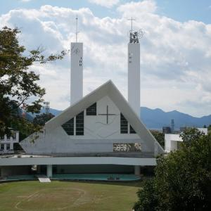サビエル記念聖堂と平和の鐘