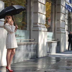 雨傘と、初彼。