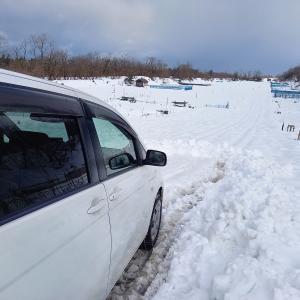 雪の畑……行ってきました⁉