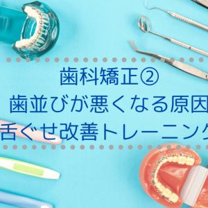 【体験談】小児歯科矯正②歯並びを悪くする原因と、舌癖改善トレーニング!