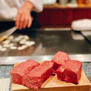 神戸Beefで入学お祝いディナー@ロイヤル・モーリア