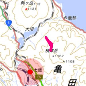1/27 1035m峰 山スキー