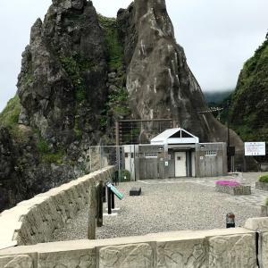7/14 知内町小谷石イカリカイ駐車公園(テントサイト調査)