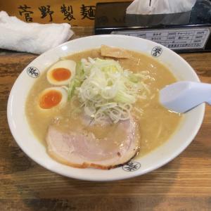 【柏グルメ】柏駅南口徒歩3分「こってりらーめん誉」太麺で満腹♪