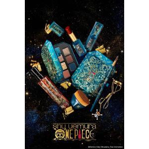 """シュウ ウエムラが漫画『ワンピース』とコラボコフレを発表! 光り輝く色彩やテクスチャーで""""冒険""""を表現"""