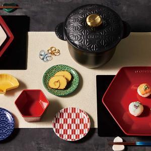 """ル・クルーゼが""""和""""なニューイヤーコレクション発表、日本限定で箸と箸置きが初登場"""