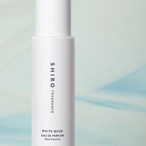 SHIROが新作「ホワイトムスク」シリーズをオンライン限定発売!あたたかく透明感のある香り
