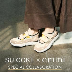 エミとスイコックがコラボシューズを発売!スニーカー×サンダルのハイブリッドニューモデル