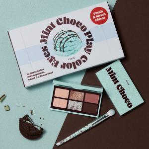 チョコミン党必見!エチュード、チョコミントをイメージした「アイシャドウパレッド」を発売