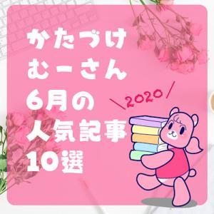 かたづけむーさん6月の人気記事【2020】