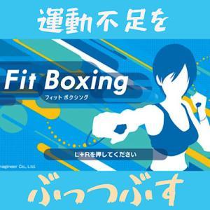 フィットボクシングなら続く!運動不足解消で体力強化・ダイエットに!