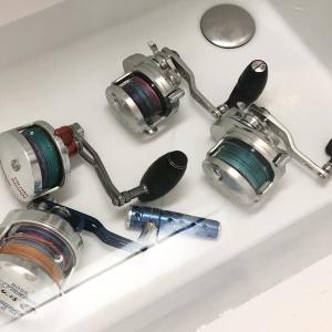 リール洗浄は水没させるべきか