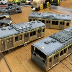 改造プラレール・201系中央線 #その2