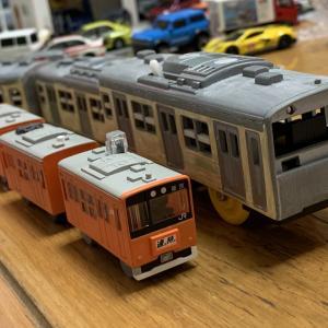 改造プラレール・201系中央線 #その3