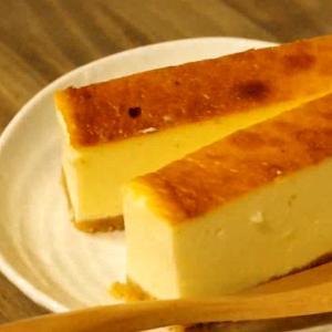 ヨーグルトを使ったチーズケーキ