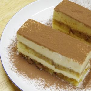 ティラミスをアイスケーキにしてみた