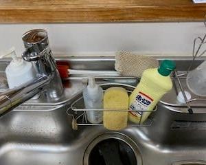 キッチンのスポンジ問題