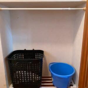 洗濯かごは他の用途へ生まれ変わりました