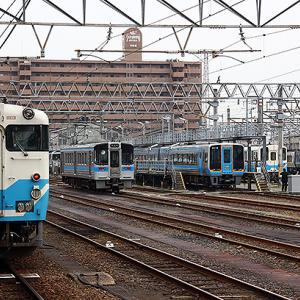 松山~宇和島 特急 宇和海 に自転車積載フロア サイクルルーム 出現、土休日4往復1列車2台までそのまま積めて無料
