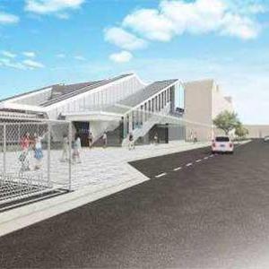 JR西日本、奈良線山城青谷駅の橋上駅舎など駅設備の概要を発表