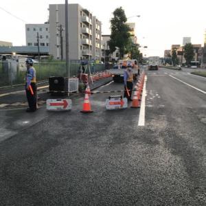 陥没道路は6月24日に仮復旧…ただし、歩道側1車線は規制継続 相鉄・東急直通線の工事トラブル