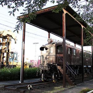 摂津市 新幹線公園 0系先頭車とEF15電気機関車の車内を毎週日曜に公開