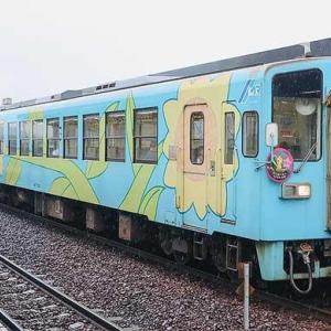 水島臨海鉄道の「七夕列車」が連結して運転される