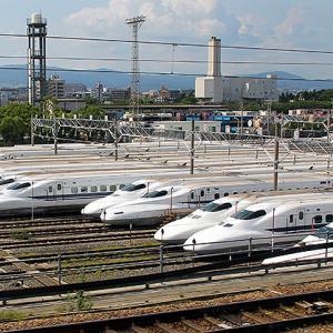 新幹線N700系量産車に初の廃車、2000番台X12編成スモールAが浜松工場へ入場