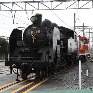 東武鉄道にC11 325が入線—SL列車は1日最大4往復8本に
