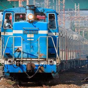 名鉄9100系3本が甲種輸送される