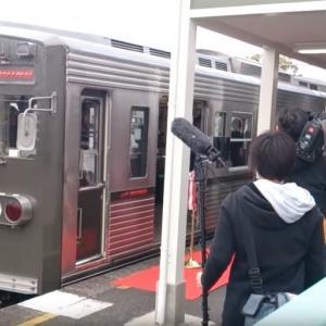 初代「くまもん」ラッピング電車が引退…熊本電鉄の元都営6000系 11月27日限り