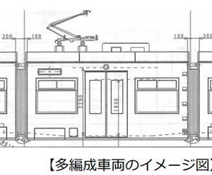 熊本市電に3両編成の新型車両導入計画 朝夕ラッシュ時の急行運転も?